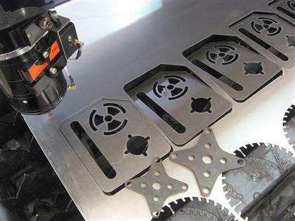 金属板越薄越利于光纤 激光切割机切割吗